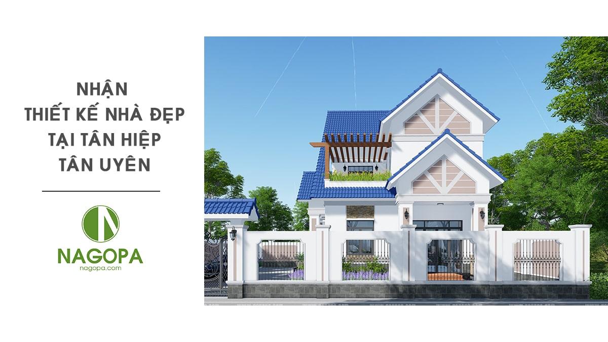 Nhận thiết kế nhà đẹp tại Tân Hiệp